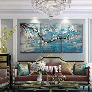 Extra Large Wall Art | 100% Hand-Painted | Wall Painting for Bedroom