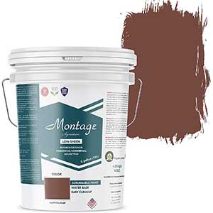 Montage Signature Paint | Paint For Interior Wood Stairs | 5 Gallon