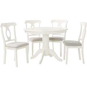 Angel Line | Dining Table Set | Round Table | Pedestal Base