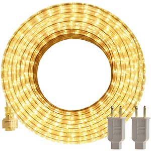 SURNIE Rope Lights for Crown Molding | Waterproof