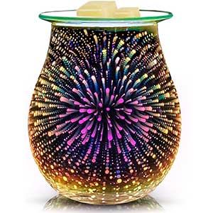 Equsupro Candle Wax Warmer | 3D Glass