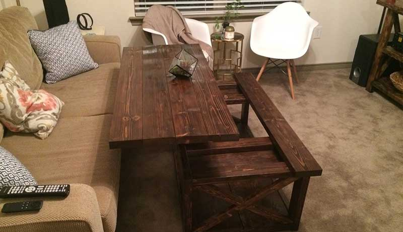 How to Make a Lift Top Coffee Table